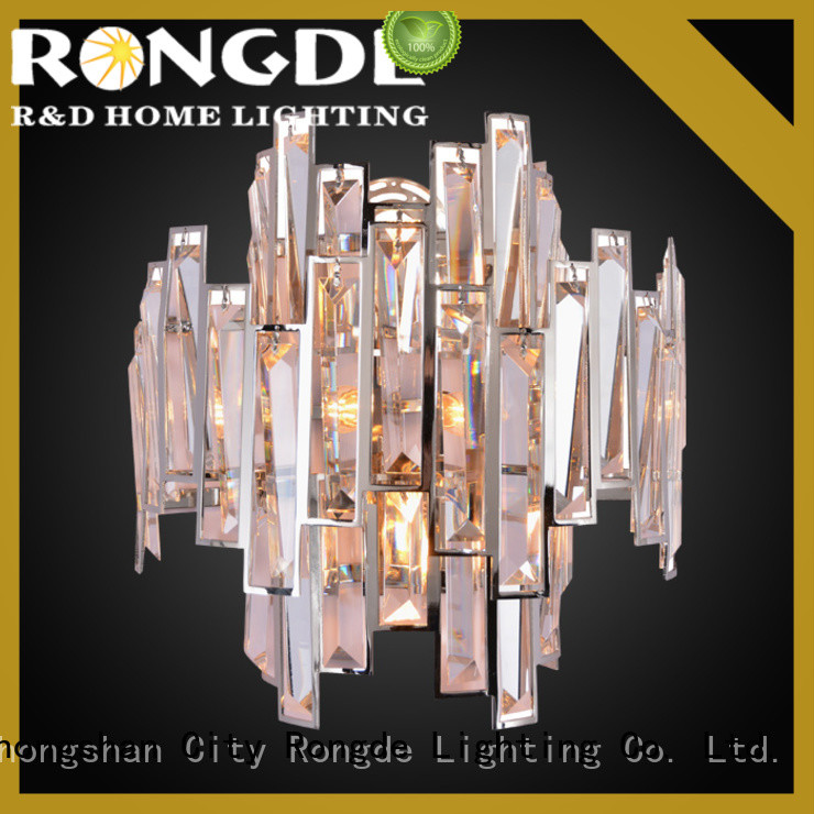 Rongde crystal wall lights Suppliers