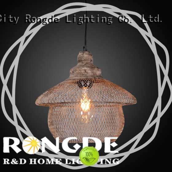 Rongde Custom pendant lamp Supply