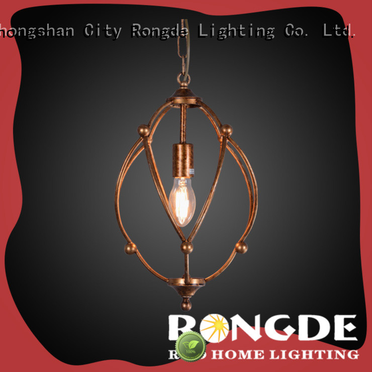 Rongde Best wrought iron chandeliers factory