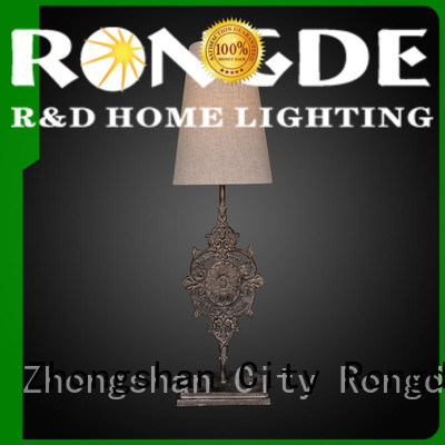 Custom rust table lamp Suppliers
