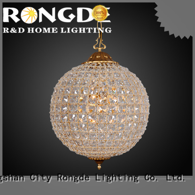 Rongde New large chandeliers manufacturers