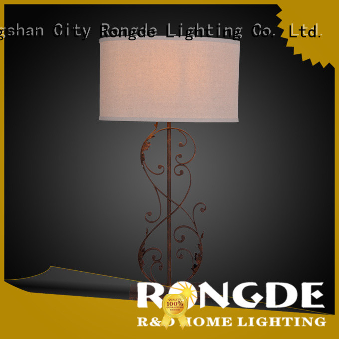 Rongde High-quality rustic table lamp Supply