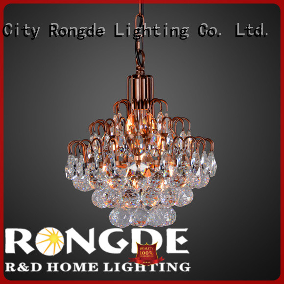 Rongde iron pendant light for business